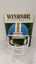 Windsor Canadian Whiskey NFL Full Size Riddell Helmet Wall Advertisement Plaque