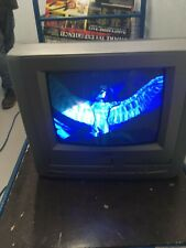 """Matsui 14"""" Tv Dvd Video Combo Retro Gaming With remote"""
