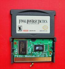 Final Fantasy Tactics Rpg Nintendo Game Boy Advance *Authentic & Saves*