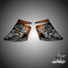 SKI-DOO REV MXZ SNOWMOBILE WRAP GRAPHIC SIDE PANEL DECAL 03-07 OUTLAW ORANGE