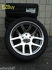 "22"" Dodge Ram 1500 SRT10 Style Chrome Wheels and 285-45-22 Nexen Tires 2223"