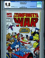 Infinity War #2 CGC 9.8 NM/MT Marvel Comics Ron Lim 1992 Amricons K22