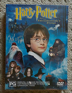 Harry Potter & The Philosopher's Stone - 2DVD [NEW & SEALED]