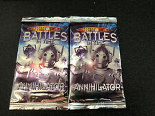 Doctor Who Battles in Time 2 x Annihilator Sealed Packs