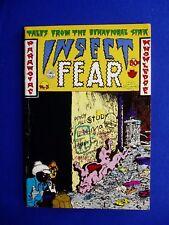 Insect Fear 3.  underground  .1st   Spain, Deitch, Hayes,Todd, Brand. Jaxon.