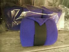 VAC'S DELUXE POLO BANDAGES-MADE IN USA-4X72 EXTRA THICK HORSE LEG WRAPS-PURPLE-4
