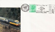 GB 1983 Intercity 125 East Midlands-London Cover VGC
