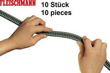 Fleischmann N 9106-S Flexgleis 777 mm (10 Stück) - NEU