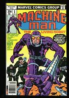 Machine Man #1 NM 9.4