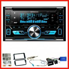 Kenwood DPX-7000DAB USB Bluetooth Einbauset für Ford Focus Mondeo S-Max Galaxy