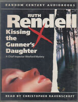 Kissing the Gunner's Daughter Ruth Rendell 2 Cassette Audio Book Wexford Crime
