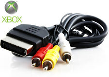 Original Xbox Standard AV Cable - Composite Audio Video RCA 6ft Cord - US SELLER