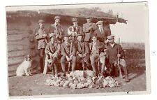1930s Rppc Postcard Hunting Upland Prairie Chickens Retriever Dogs Shotguns