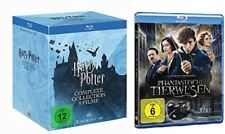 Harry Potter Box Komplettbox Teil 1-7.2 + Phantastische Tierwesen Blu-ray Set