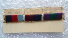 Medal Ribbon Bar- 1939-1945 Star and General Service Medal Army & RAF (Used)