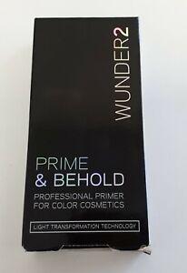 WUNDER2 Prime & Behold Base Professionnelle PRIMER pour Cosmétiques 5 g /EBLV
