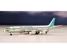 Aeroclasscs Trans International DC-8-55 N8008D Polished 1:400 Scale ACTIA0908
