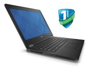 Dell Latitude E7270 12.5in Laptop i5 i7 6th Gen 8GB 16GB RAM 256GB 512GB SSD