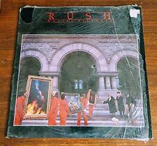 Neil Peart Rush Moving Pictures 1981 Vinyl Record Album LP SRM-1-4013 Shrink