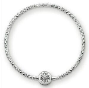 KA0001 New Genuine Thomas Sabo Sterling Silver Karma Bead Bracelet RRP £59