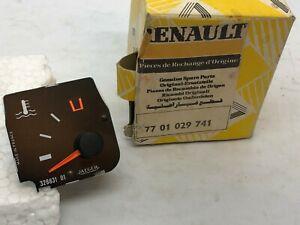 Renault 9 R9 Temperature gauge Indicateur de température 7701029741 Genuine NOS