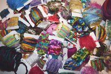 Fiber for Embellishments 200 Yards 20 Colors Novelty Yarn Grab Bag for Scrapbook