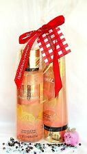 Victoria's Secre Amber Romance In Bloom Body Mist & Body Lotion *Gift Set*