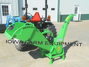 """Peruzzo TB100 Tractor PTO Wood Chipper, Professional Drum Type Rotor Chips To 4"""""""