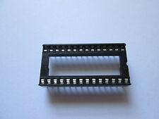 "Low Profile 28 Pin IC Socket DIL 0.6"" wide Way DIP chip"