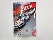 Porsche 911R Jährlicher Wand Kalende  Driver`s Selection   Blechschild