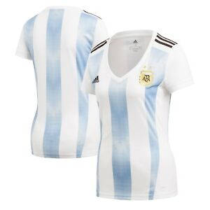 Adidas Argentina Women Home Jersey World Cup Russia 2018