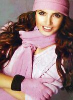 New Ladies Micro Fleece 3 Pc Beanie Hat Scarf Gloves Women Sets Winter Gift BNWT