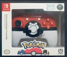 PowerA Enhanced Wireless Controller For Nintendo Switch Pokemon Poke Ball