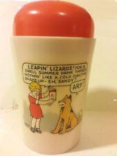 Orphan Annie Cold Ovaltine Shake-UP Mug Swell Summer Drink Sticker Sandy Full