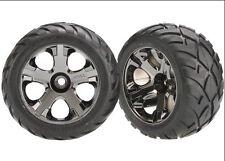"Traxxas 3777A All-Star 2.8"" Wheels Anaconda Tires (2) Front Nitro Jato Rustle..."