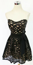 WINDSOR Black Homecoming Party Dance Dress 7 -$110 NWT