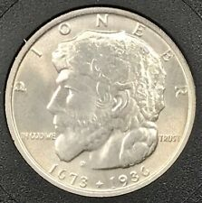 New listing 1936 Elgin Illinois Centennial Commemorative Half Dollar. Gem Bu+