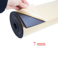 1Roll 7mm Car Sound Proofing Deadening Insulation Closed Cell Foam Roof 50X300mm