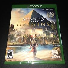 Assassin's Creed: ORIGINS Xbox One XB1 video game!! BRAND NEW!! FACTORY SEALED!!