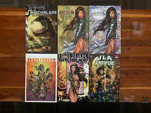 Witchblade Graphic Novel Lot Of 6