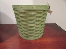 Longaberger Medium Planter Sleeve Sage New In Hand