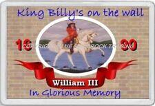 KING BILLY'S ON THE WALL FRIDGE MAGNET ULSTER 1690 LOYALIST IRELAND ORANGE MAN
