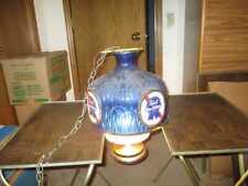Vintage Pabst Blue Ribbon PBR BEER Hanging Ceiling Light Lamp Chandelier