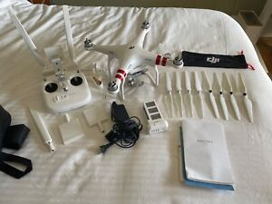 DJI Phantom 3 Standard Quadcopter Drone in Good Working Condition with Extras