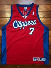 Lamar Odom Authentic Champion Size 52 Los Angeles Clippers NBA Jersey XL XXL 2XL