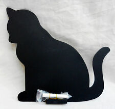 Chalk Board / Memo Board / Blackboard - Cat Design, Wall Hanging - BNIB