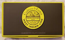CRABTREE & EVELYN West Indian Lime Triple Milled Soap 5.3oz x 3 Bars BRAND NEW!