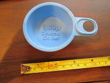 Fisher Price Fun with Food Mixing Center Blue quarter cup measuring baking 1/4