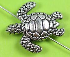 Wholesale 10pc alloy tortoise Beads Fit Charm Bracelet