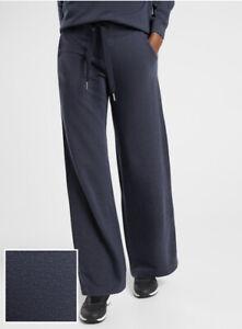ATHLETA Balance Printed Pant 1X Plus Navy Stripe Travel Commute #982865